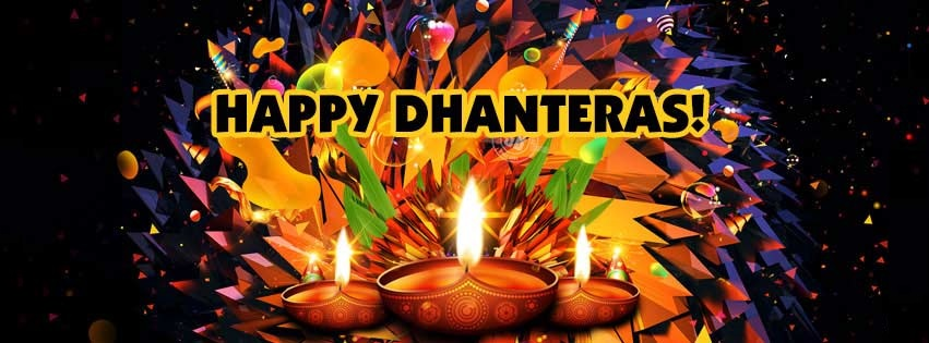 Happy Dhanteras FB Timeline Picture