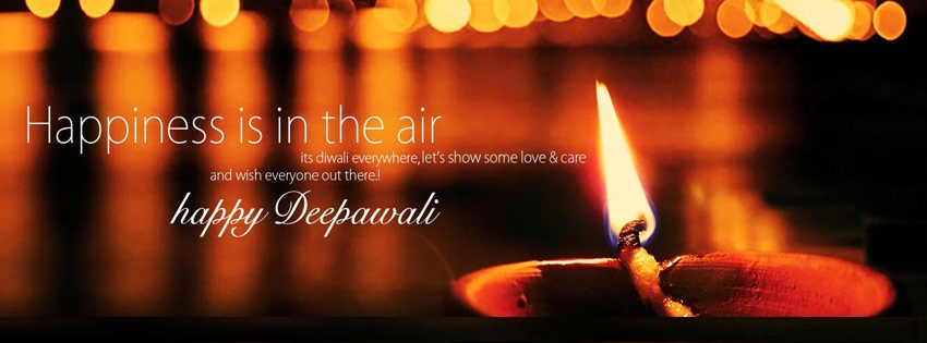 Happy Diwali 2018 Facebook, Google+ & Twitter Cover Picture