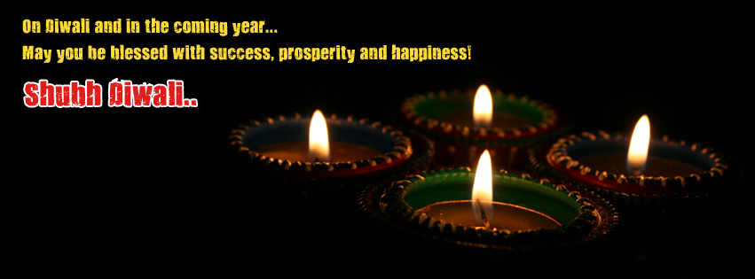 Happy Diwali Facebook Timeline Picture