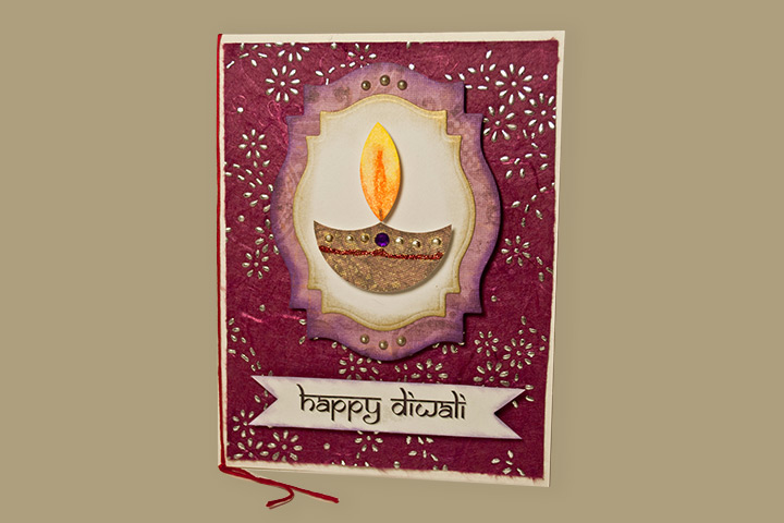 Happy Diwali 2017 Free Printable Gift Card