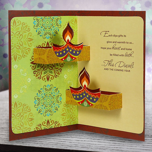 Happy Deepavali 2017 Printable Gift Card