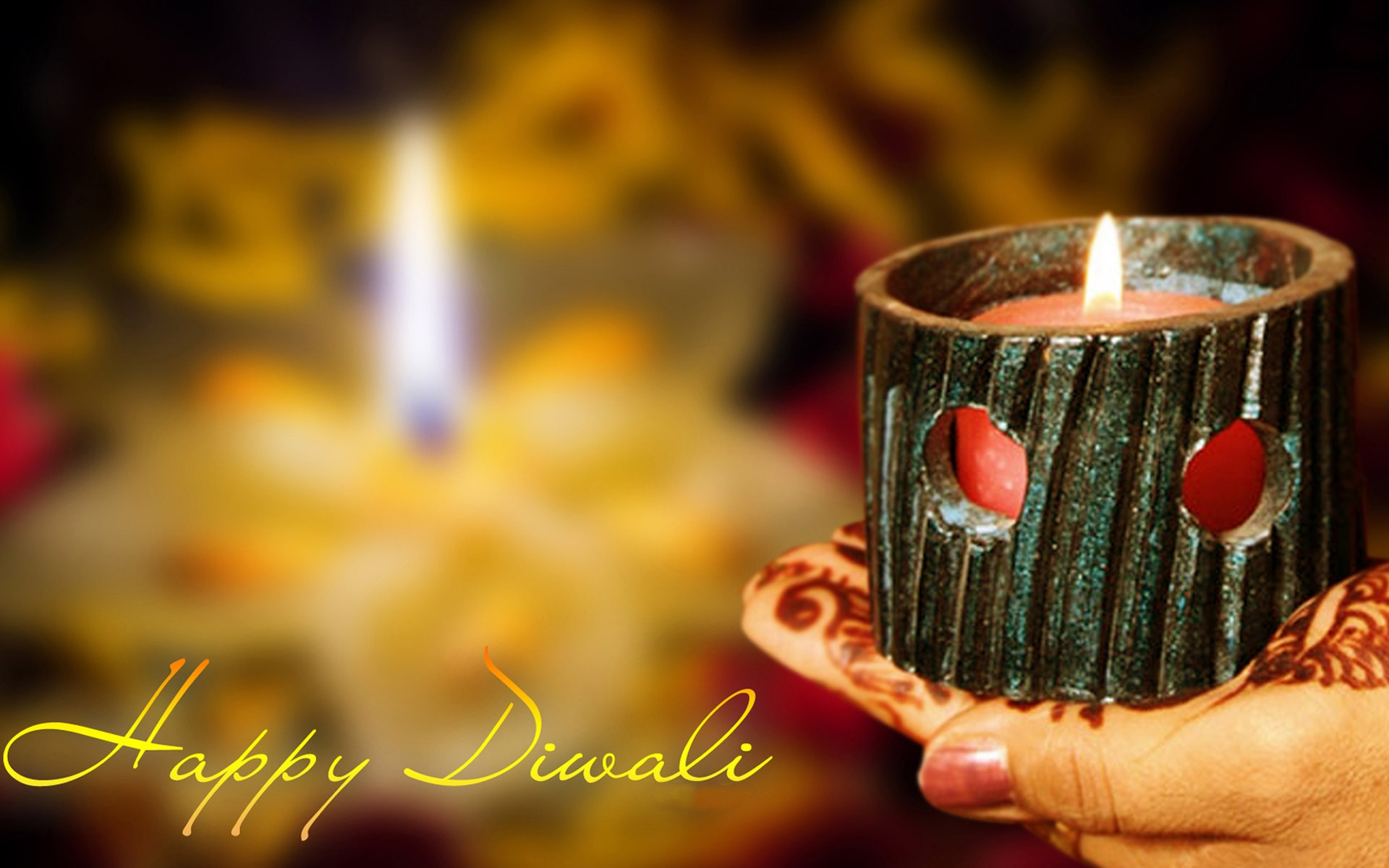 Happy Diwali- Deepavali 2018 Diya HD Wallpapers