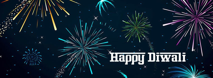 Happy Diwali Facebook Timeline Covers Free download