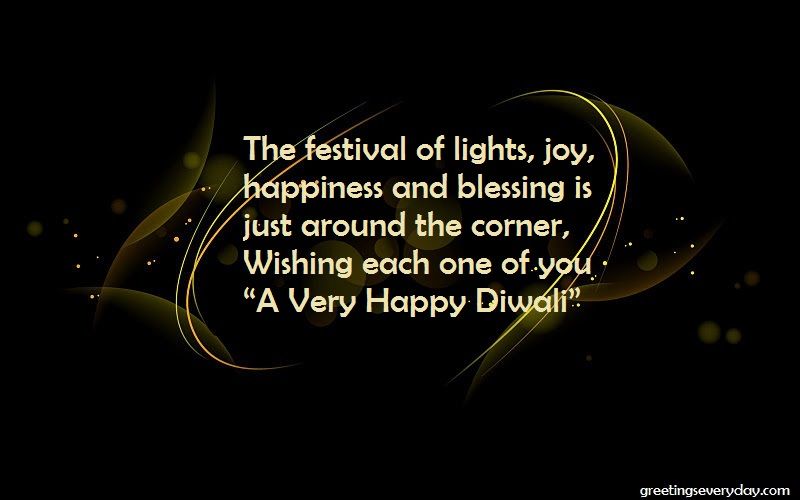Diwali Facebook Status With Best Wishes