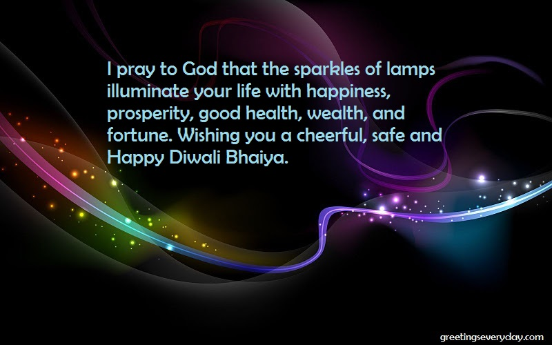 Happy Diwali Wishes, Messages & SMS For Brother