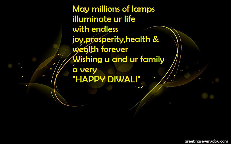 Happy Deepavali SMS in English