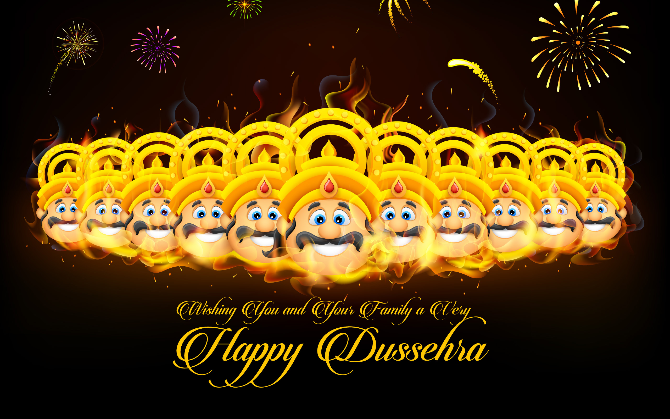 Happy Dussehra Vijayadashami Wishes Images & Pictures For WhatsApp