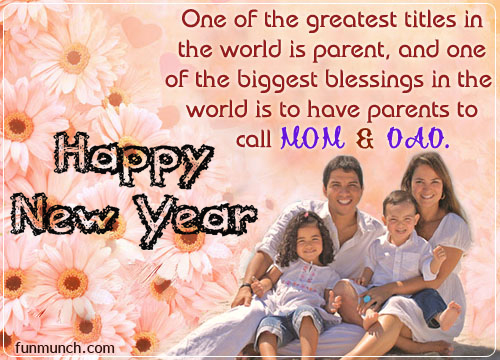 happy new year 2018 greeting card image picture photos for family