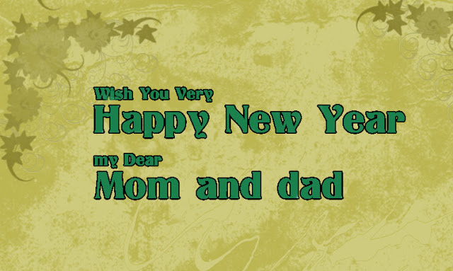 Happy New Year 2019 Greeting Card For Family