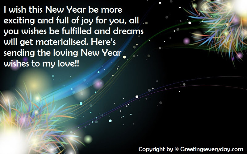 Happy New Year Wishes, Messages & SMS For Boyfriend & Girlfriend
