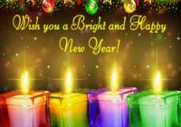 Happy New Year 2017 Wishes Picture For Friend