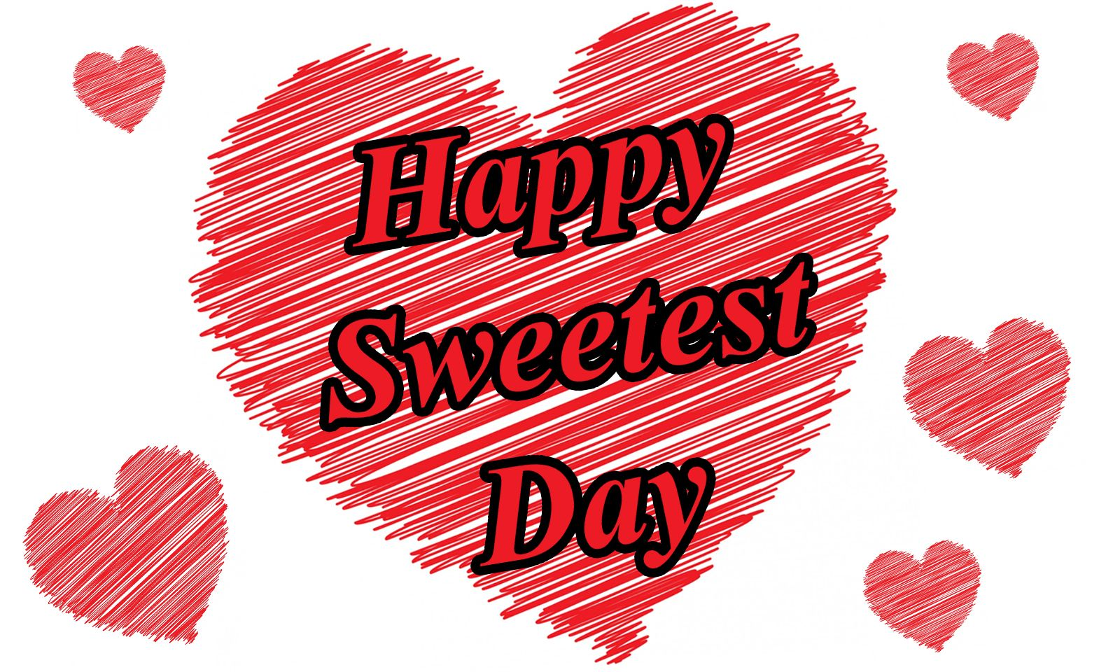 Happy Sweetest Day Wishes Greeting Card Free Ecard Image Picture
