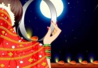 Karva Chauth Wishes Funny Cartoon, Animated Greeting Video For WhatsApp