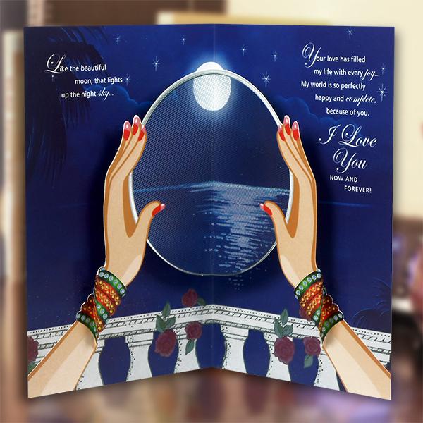 Karwa Chauth Gift for fiance