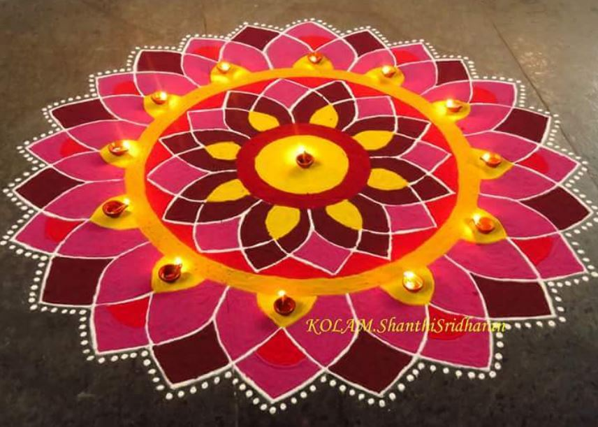 Rangoli Design Ideas & Images For Diwali
