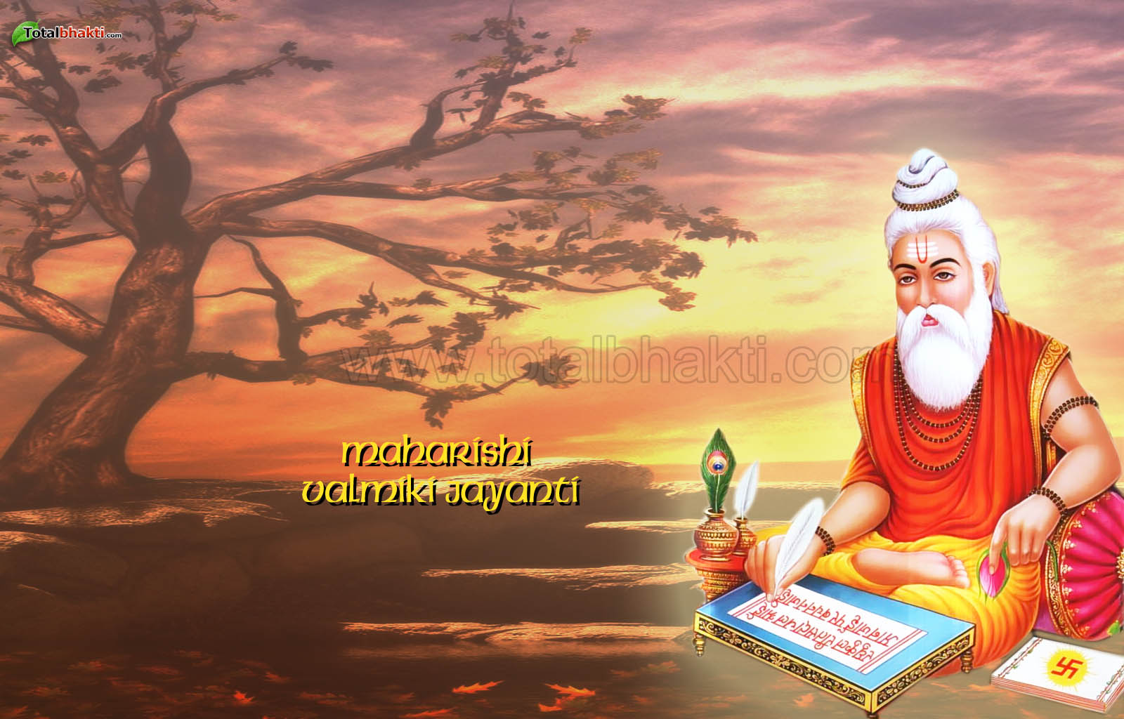 Hd wallpaper valmiki - Maharishi Valmiki Jayanti Wishes Pictures Images For Whatsapp Hike Facebook