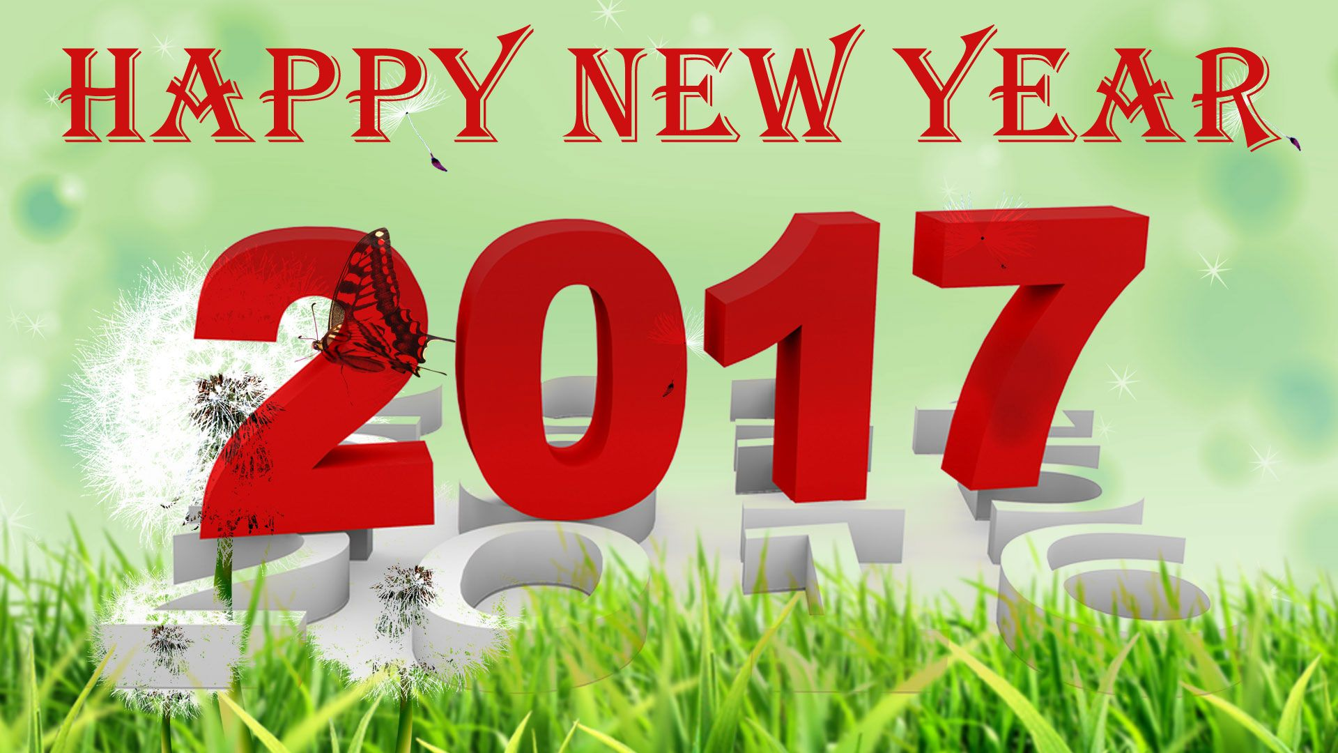 Happy New Year 2018 Image