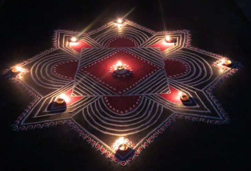 Rangoli Design Ideas & Images For Diwali & Happy New Year