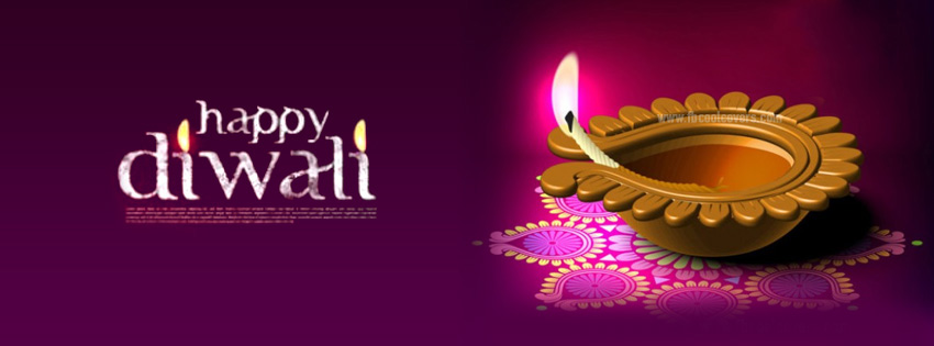 happy diwali facebook cover photos images
