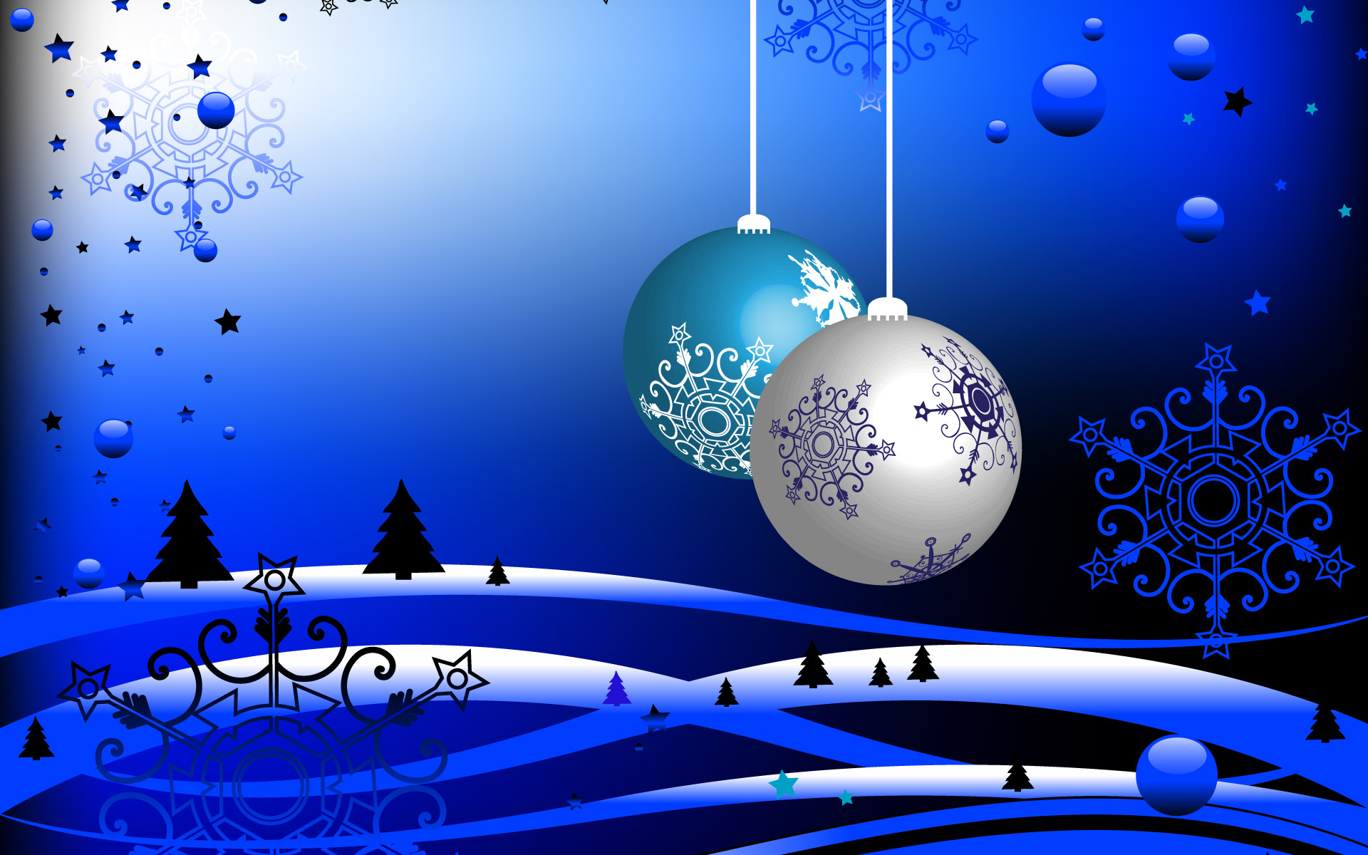 Bright & Shining Christmas HD Wallpaper for desktop