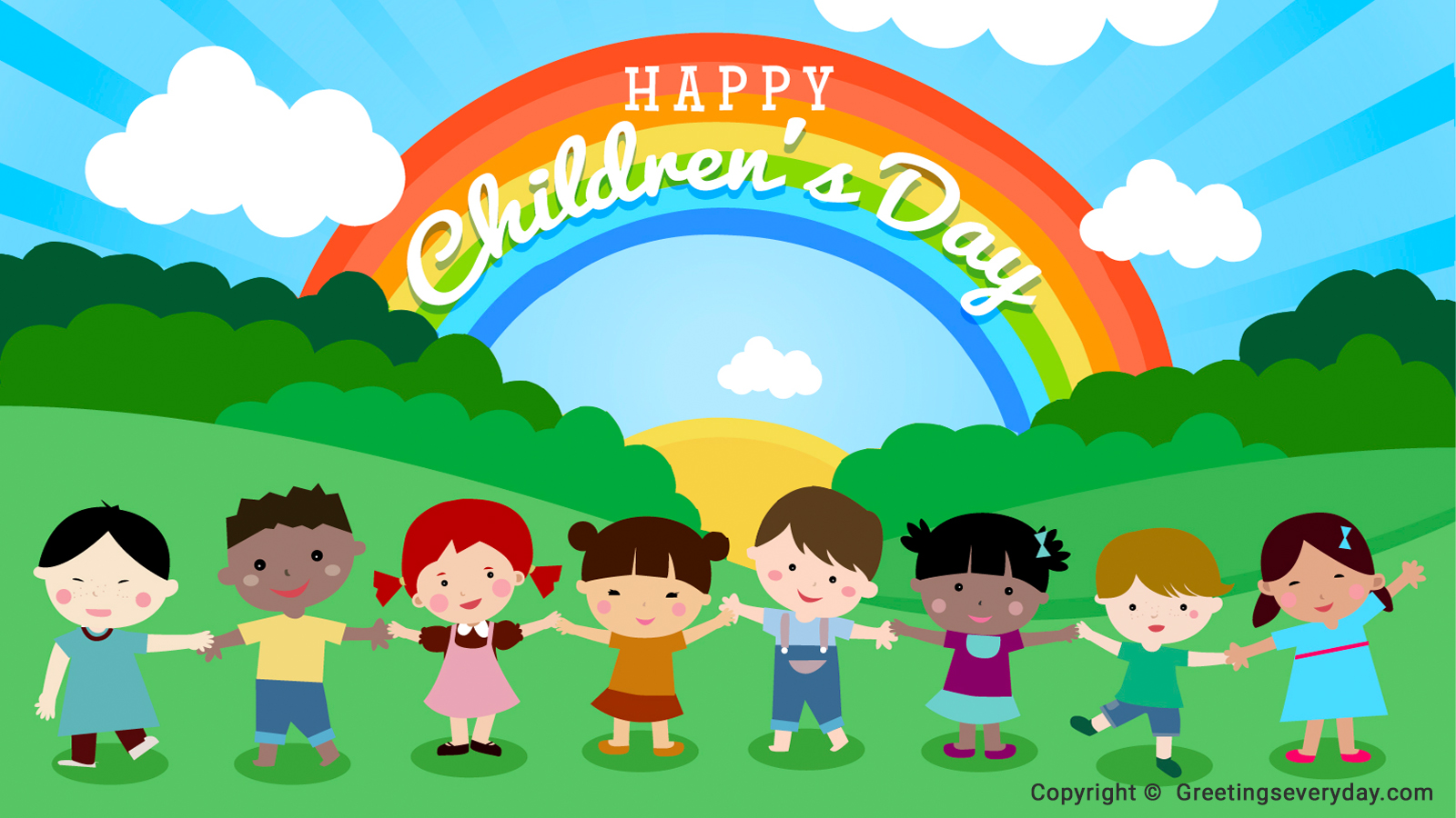 Best}* Happy Children's Day 2016 HD Wallpaper, Image, Picture & Photo
