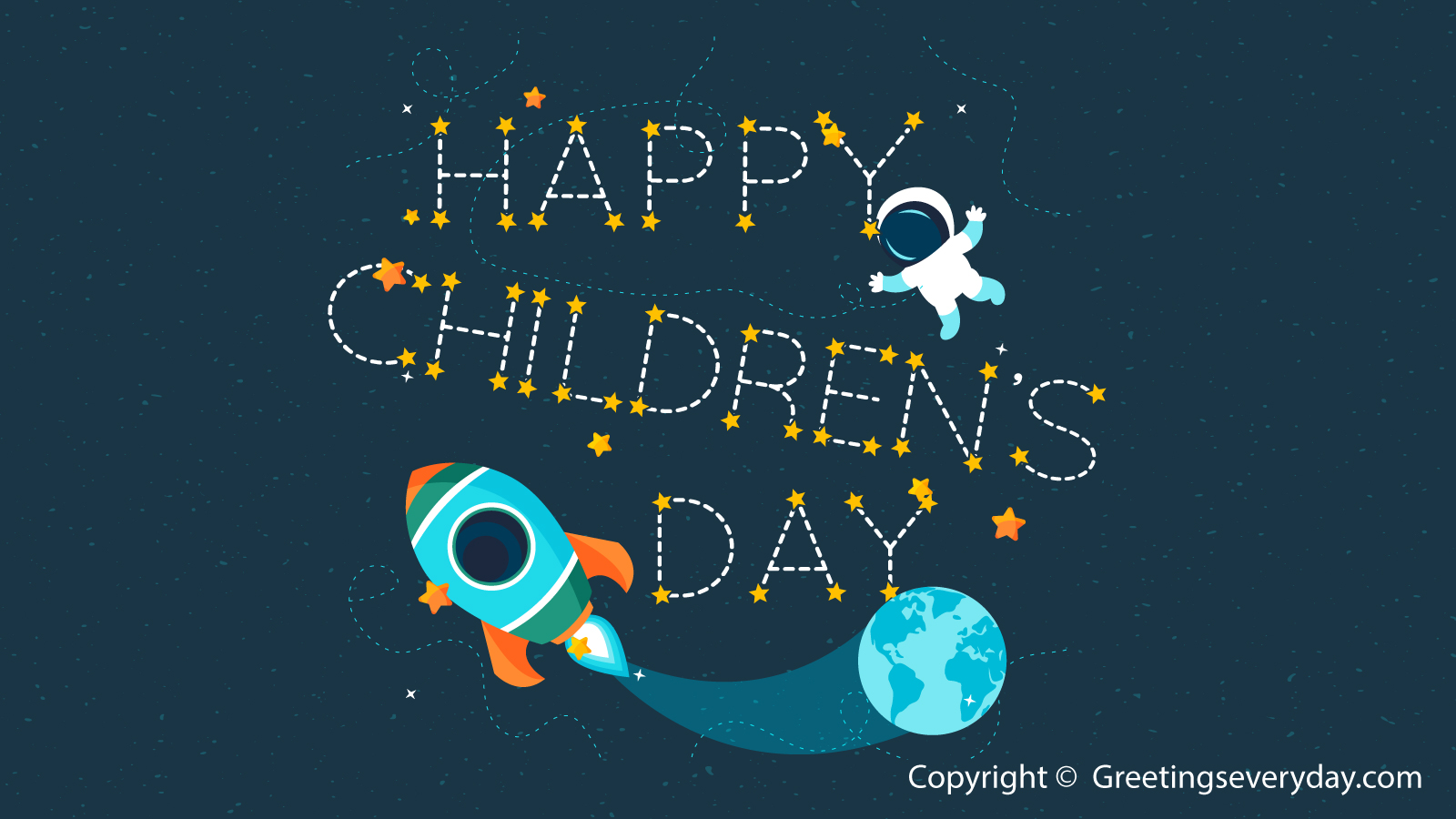 Happy Children's Day Quotes, Sayings & Slogans Video