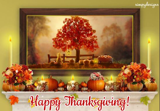 Download Free Happy Thanksgiving Day Ecards