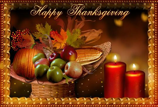 Free Happy Thanksgiving Day Ecards