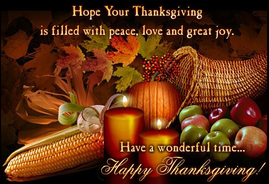 Free Happy Thanksgiving Day Greeting Cards