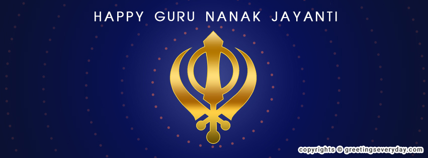 Guru Nanak Jayanti Banner For Google+