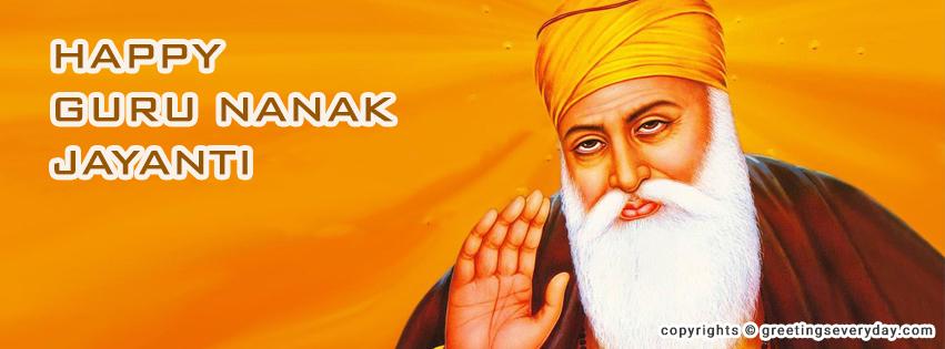 Guru Nanak Jayanti Facebook Timeline Cover