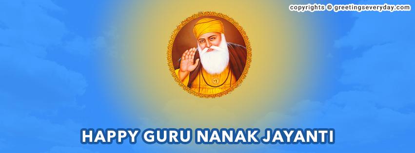 Guru Nanak Jayanti Facebook Cover Photo