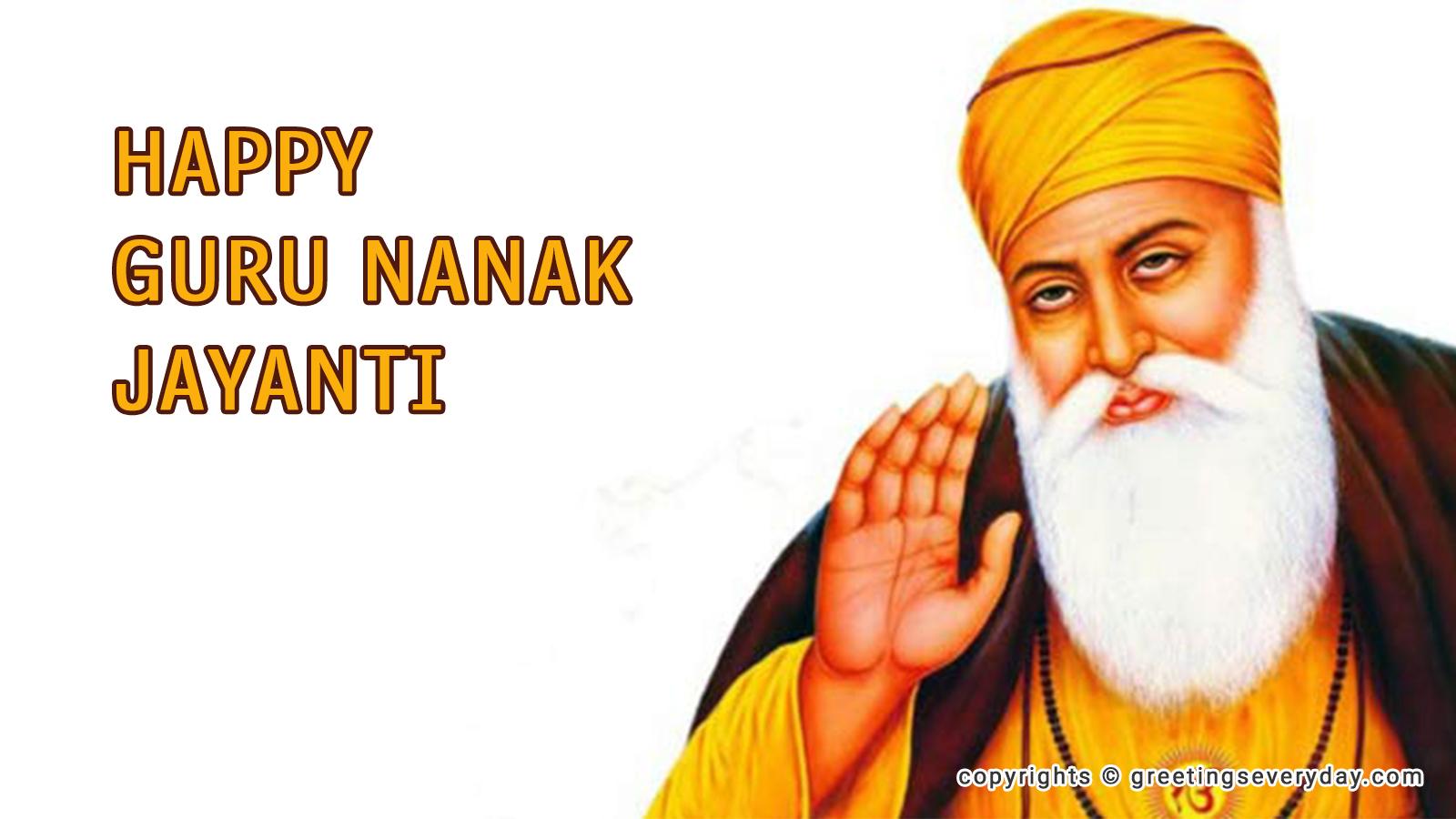 Guru Nanak Jayanti Image WhatsApp