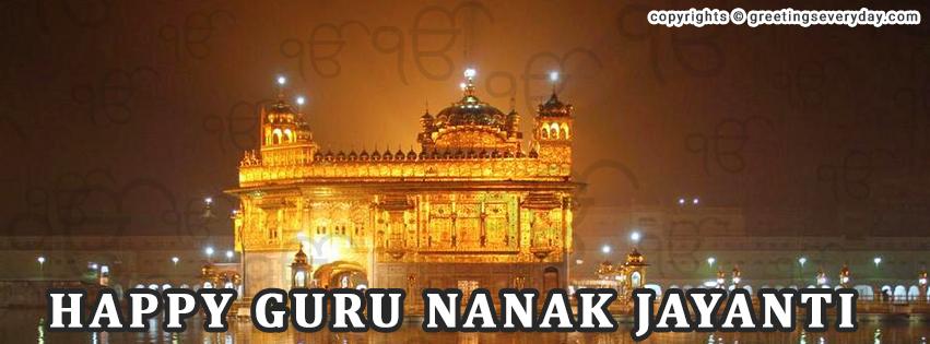 Guru Nanak Jayanti Twitter Cover Photo
