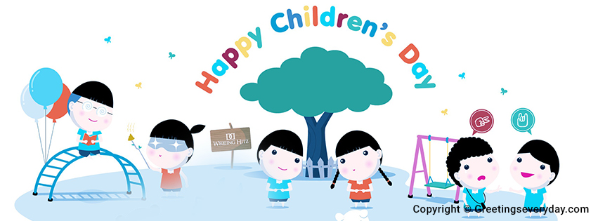 Happy Children's Day Banners