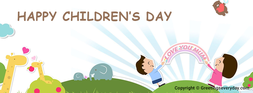 Happy Children's Day Banners For FB