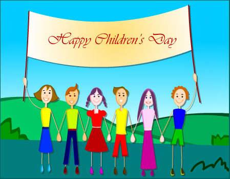 Happy Children's Day Free Ecards