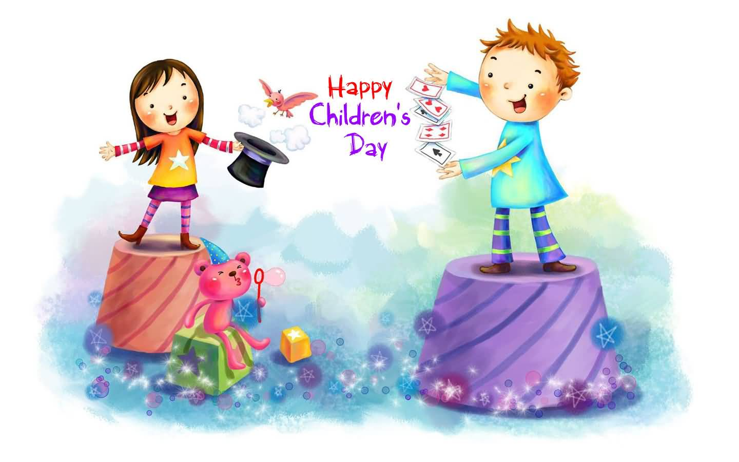 Happy Children's Day 2017 Cartoon & Funny Images