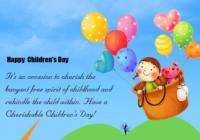 Happy Children's Day WhatsApp Status, Facebook Messages & SMS