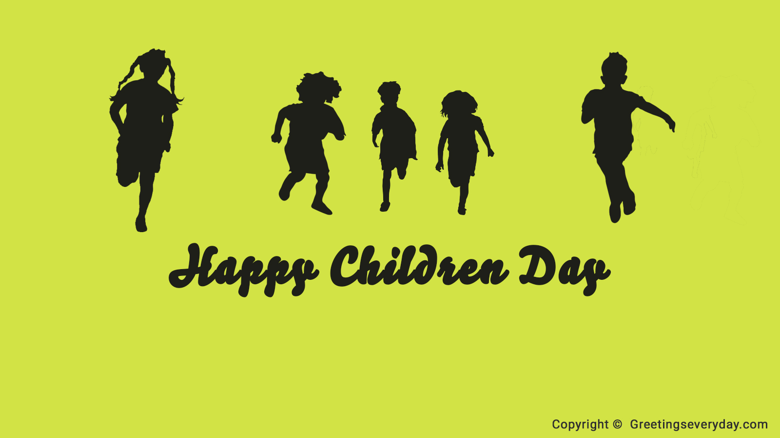 Happy Children's Day 2017 HD Photo
