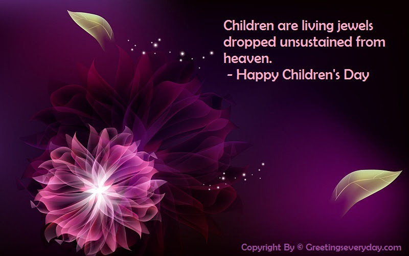 Children's Day Sayings