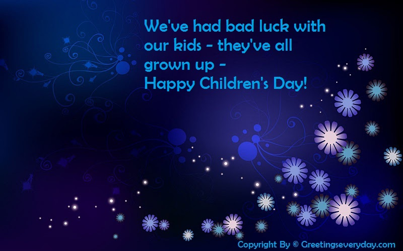 Happy Children's Day Slogans