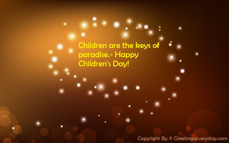 Happy Children's Day Sayings