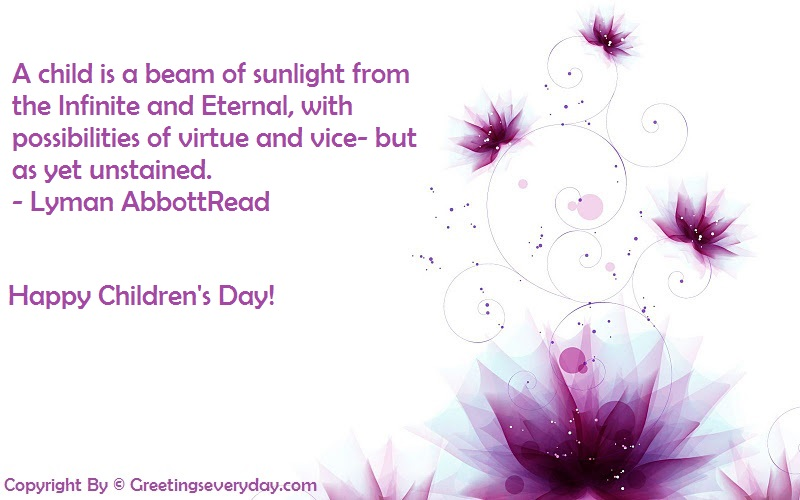 Happy Children's Day 2016 Quotes
