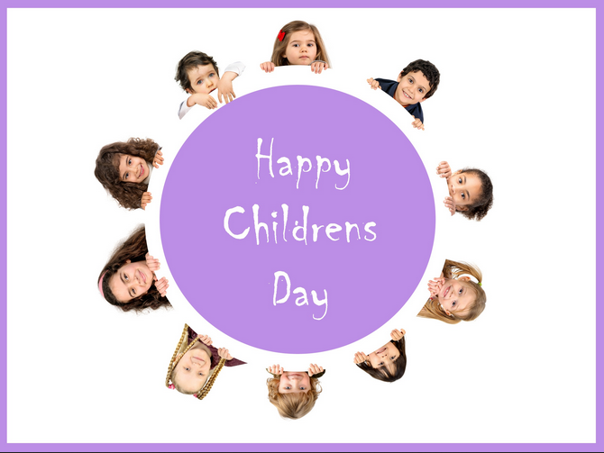 Happy Children's Day WhatsApp Dp
