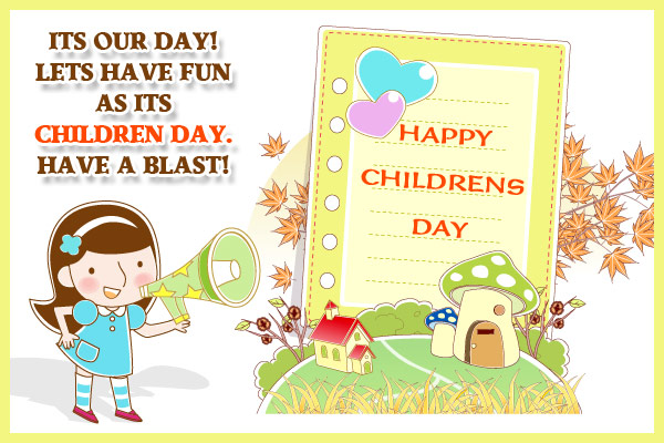 Children's Day Cartoon Picture