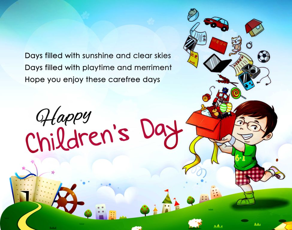 Children's Day Cartoon Image & Pic For WhatsApp