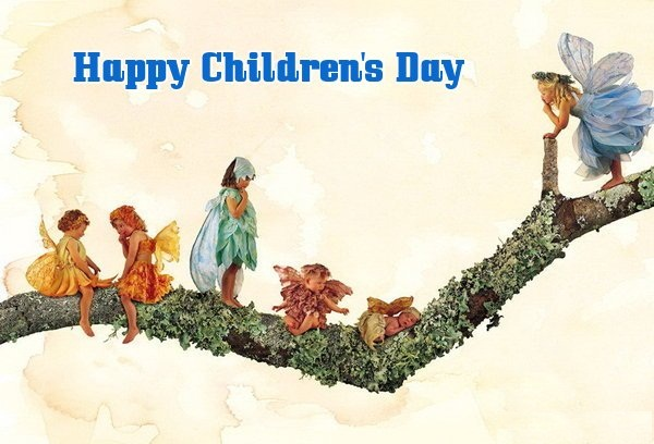 Happy Children's Day Greetings for FB