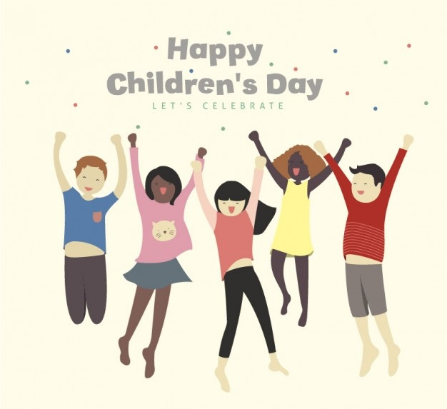 Children's Day Cartoon Image For WhatsApp