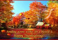 Happy Thanksgiving Day Greeting Card & Image For Family